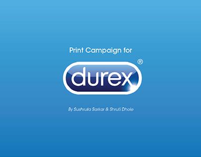 Durex Print Advertisements