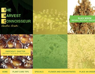 THC Garden Center Website