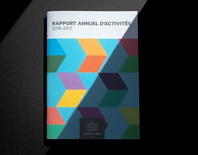 Rapport Annuel Sainte-Anne 2016-2017
