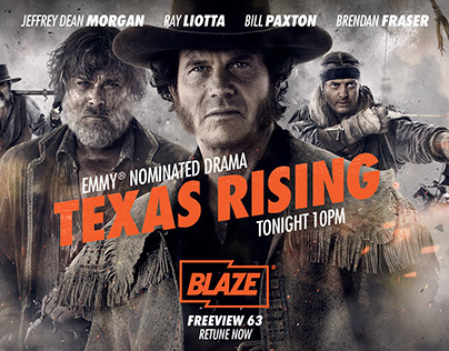 Texas Rising TV advertising