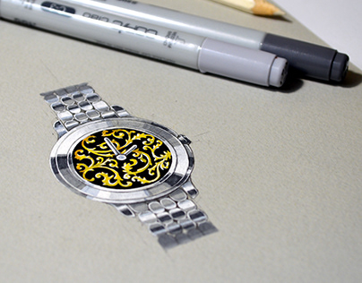 Watch. Jewelery design.