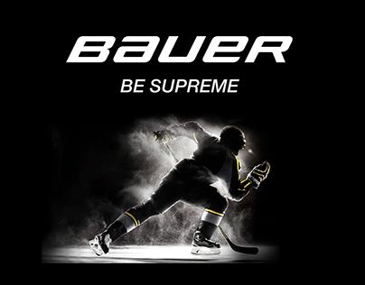 Bauer. Redesign concept. Online Store