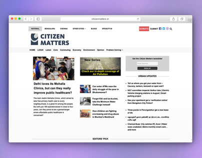 Brand Identity: Citizen Matters