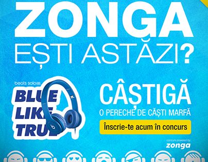 Contest Zonga Moods for Facebook