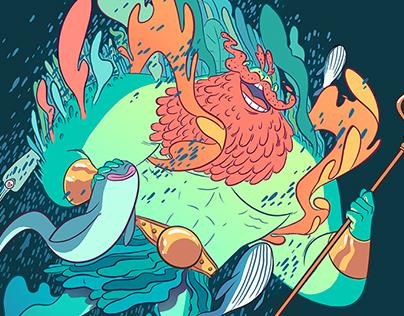 Lovely Poseidon