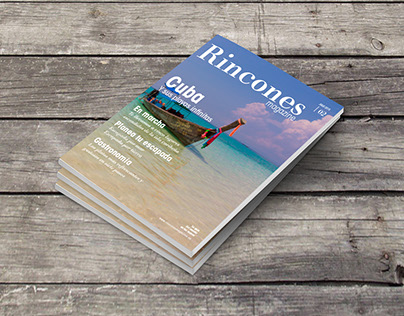 Rincones Magazine  |  Editorial Design