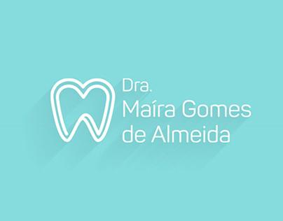 Logo e Identidade Visual Dra. Maíra Gomes