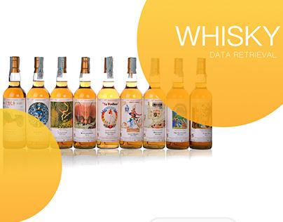 Whisky data retrieval