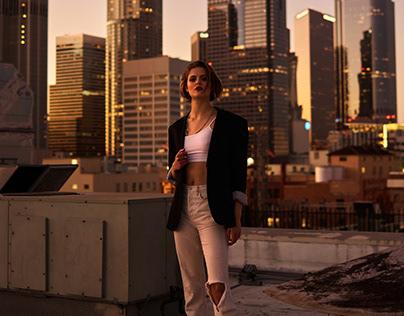 Los Angeles with Daria Matkova