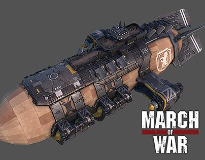 March of War – War Zeppelin