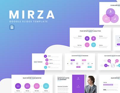 Mirza Google Slides