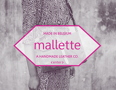 Malette, Belgian leather designer