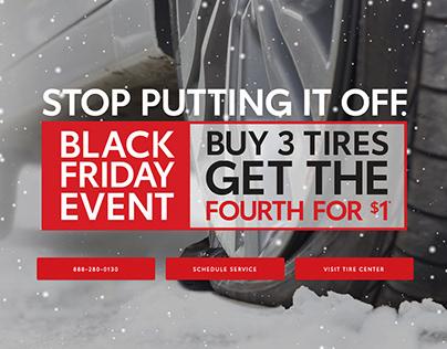 Toyota Chicago Region - Black Friday Promotion