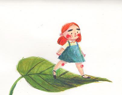 Gouache/Watercolor/Crayon