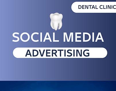 اعلان لعيادة أسنان