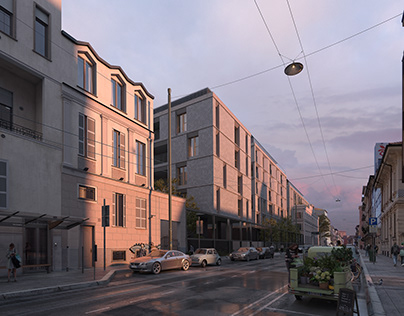 New residential project in Via Comelico - Milan