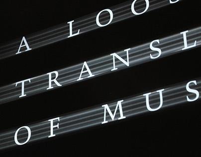 A Loose Translation of Music