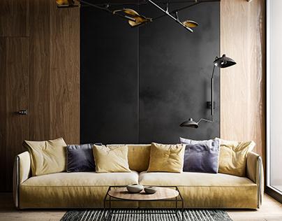 Interior design flat | Mininal | Full CGI