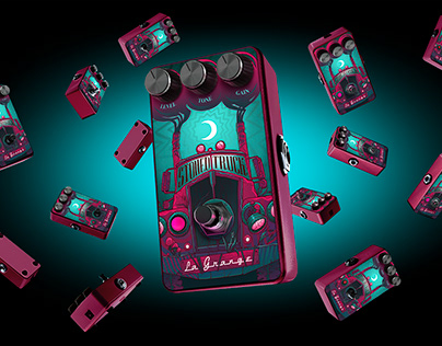 Guitar Fuzz Effect Pedal «Stoned Truck»