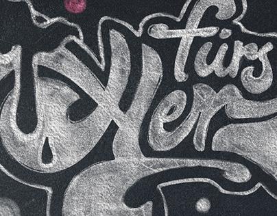 Chalkboard Design – Illustration & Lettering