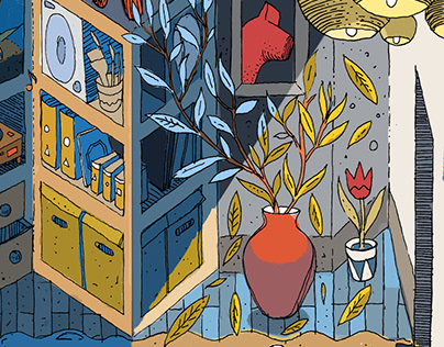 Mural for Ikea