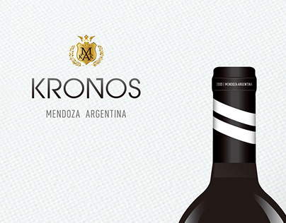 Kronos wine label