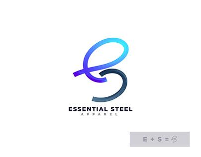 ES minimal modern logo - Logo folio - logo trends 2021