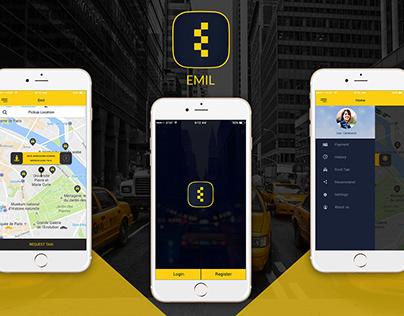 EMIL - Taxi Booking App Development