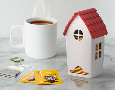 TEA HOUSE / tea bag dispenser