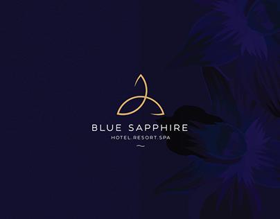 BLUE SAPPHIRE (BRANDING & IDENTITY DESIGNING)