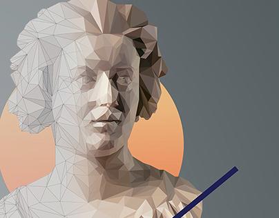 2 sculptures / 2 illustrations