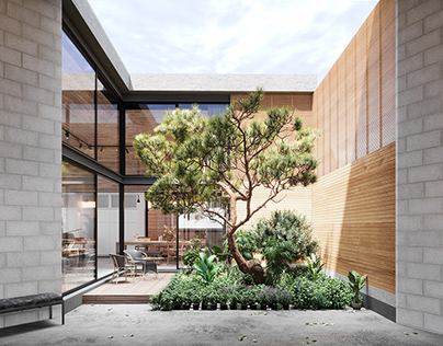 Modern Japanese Roof House