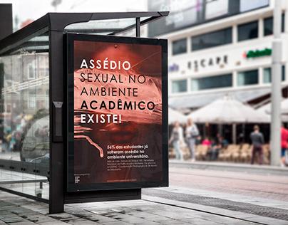 Campanha Assédio Sexual no Ambiente Acadêmico