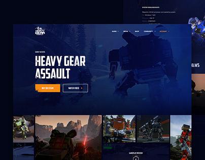 Heavy gear assault website