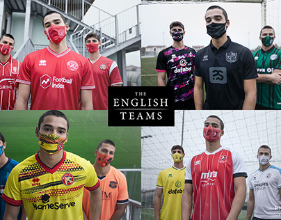 The English Teams | Jersey + Mask | Shooting