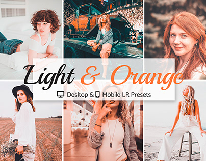 Light & Orange Presets Pack