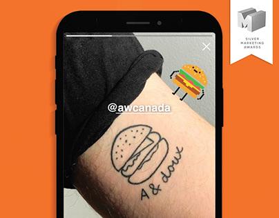 A&W | La Chasse à l'Homme Burger