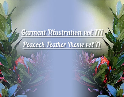 Garments Illustrations Vol -3 Peacock Feather Theme