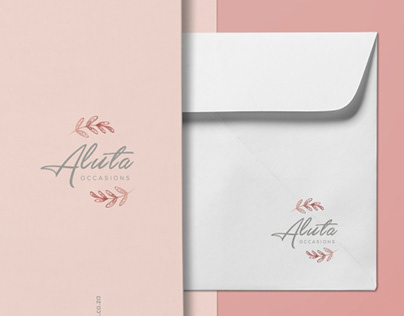 Aluta Occasions Logo & Stationary