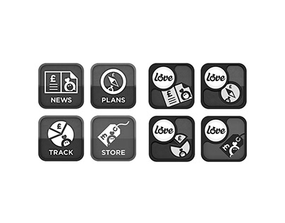 Icon Designs (Selected)