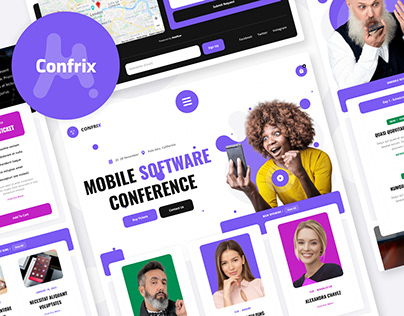 Confrix - Conference Website Template