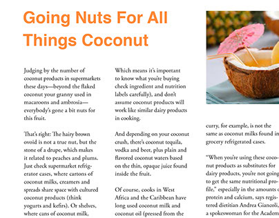 Going Nuts For All Things Coconut