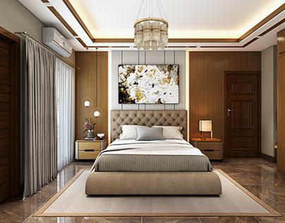 Master Bedroom Design and 3D Visualization