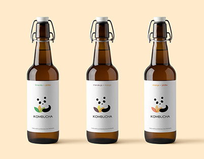 Label design for kombucha