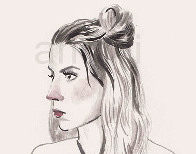 Portrait Sketches - Illustration
