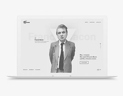 Francis Bacon - Personal website
