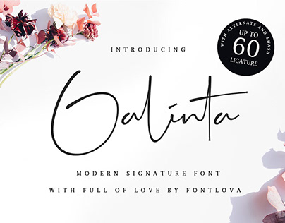 Galinta Signature Free
