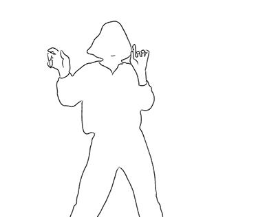 2D Rotoscope - 1M   Dance Monkey (WIP!)