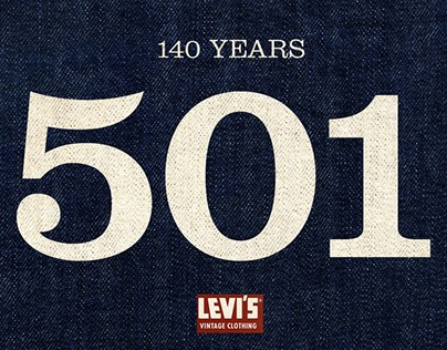 Webdesign Levis 501