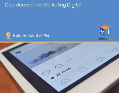 Coordenador Marketing Digital